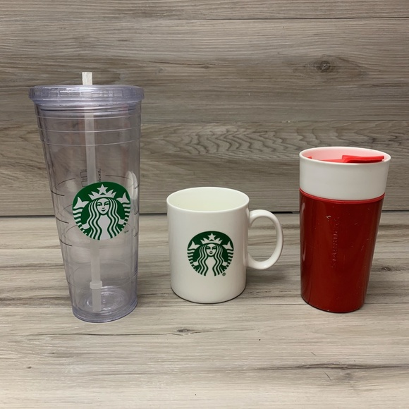 Starbucks Cold and Hot Cups Lot of 3